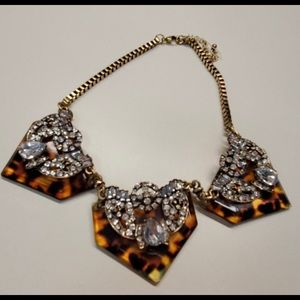 INC LEOPARD NECKLACE
